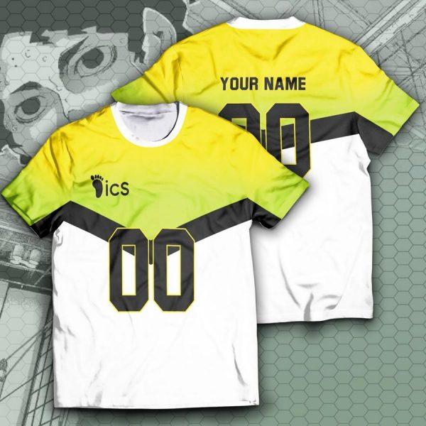 personalized team itachiyama unisex t shirt - Haikyuu Merch Store