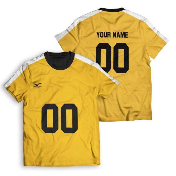 personalized team johzenji unisex t shirt - Haikyuu Merch Store