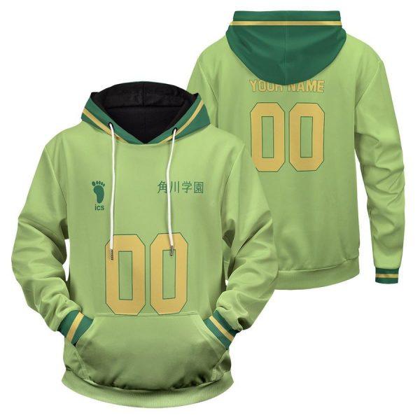 personalized team kakugawa unisex pullover hoodie - Haikyuu Merch Store