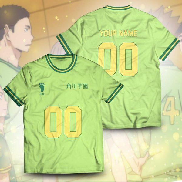 personalized team kakugawa unisex t shirt - Haikyuu Merch Store