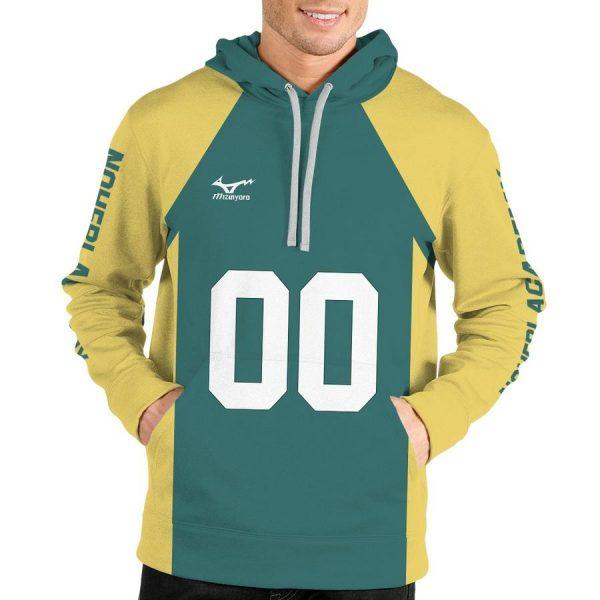 personalized team nohebi unisex pullover hoodie - Haikyuu Merch Store