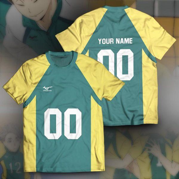 personalized team nohebi unisex t shirt - Haikyuu Merch Store