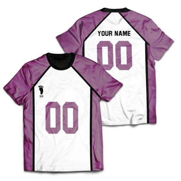 personalized team shiratorizawa unisex t shirt - Haikyuu Merch Store