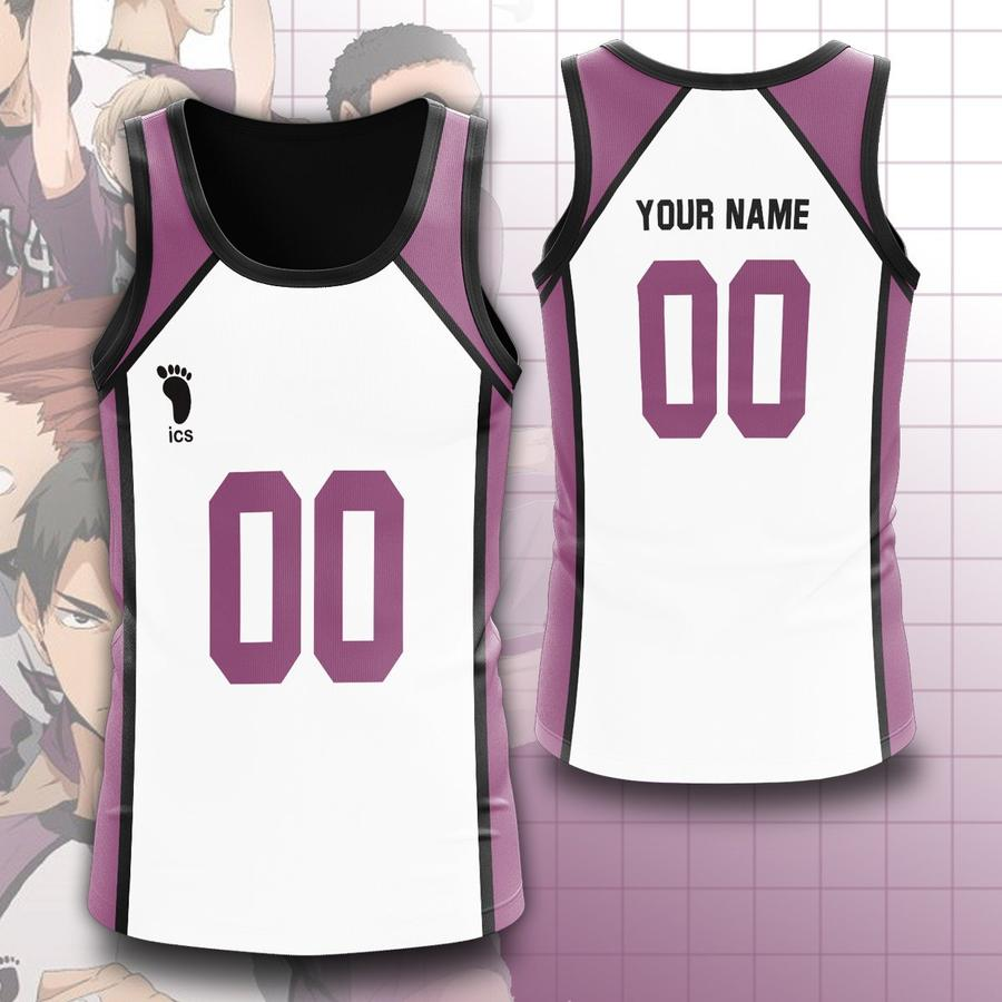 personalized team shiratorizawa unisex tank tops - Haikyuu Merch Store