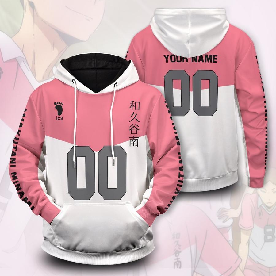 personalized team wakutani unisex pullover hoodie - Haikyuu Merch Store