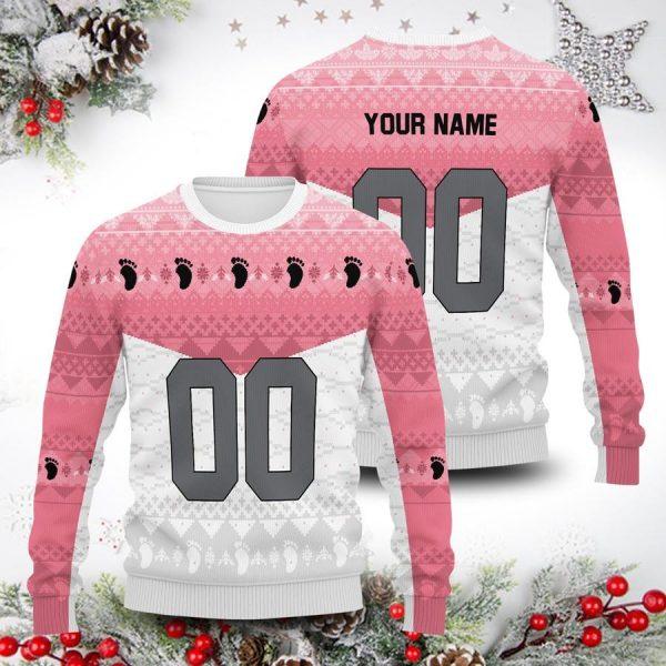 personalized team wakutani unisex wool sweater - Haikyuu Merch Store