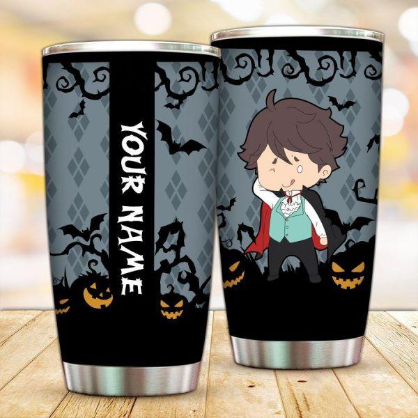personalized vampire toru oikawa tumbler - Haikyuu Merch Store